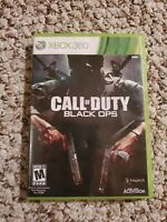 Call of Duty Black Ops for Xbox 360 Complete in Box *Tested and Working*