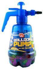 Balloon Pump with 300 Balloons Air or Water Bomb outdoor Garden - Blue