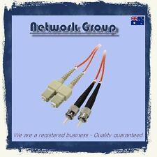 10 x Fiber Optic ST-SC adapter 3 Meter 10GB DX patch cord 50/125 MM Multimode