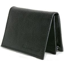 Cartera De Cuero Estuche tarjeta Expandible Bolsillo delantero Delgado ventana ID tarjeta de crédito