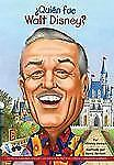 ¿Quien Fue Walt Disney? by Whitney Stewart (2012, Book, Other)