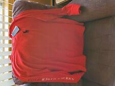 Ralph Lauren red Long Sleeve shirt New