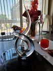 """Vintage Renato Anatra  Vetri Murano Studio Art Glass Sculpture Signed 13""""1/2"""