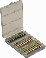 Mtm 30-Round 22-Caliber Ammo Wallet Living Hinge Secure Cartridge Holder Latch
