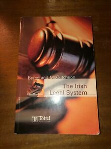 Byrne and McCutcheon, The Irish Legal System, 4th Edition