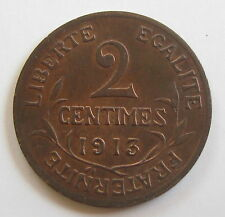 2 centimes 1913 - DANIEL-DUPUIS - III° REPUBLIQUE - SUPERBE