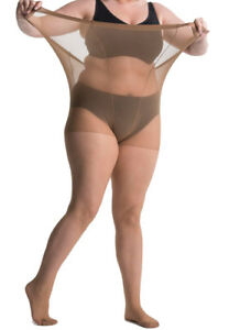 All-Woman 20 Denier Plus-Size XXL Tights Tall Extra Large Wide Sizes UK 22-42