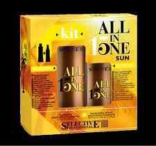 Selective ALL in ONE 15 SUN SET: Spray-Maske Hitzeschutz 150ml + Shampoo 250ml