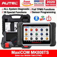 2020NEW! Autel MK808TS Car Diagnostic Scanner TPMS Programming OBD2 Code Reader