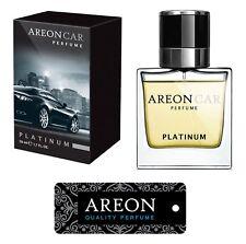 Original Areon LUX Auto Parfüm Lufterfrischer Duftdose Duftbaum PLATIN LINE 50ml