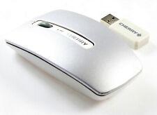 Cherry JF-03 Funkmaus / Wireless Mouse / mit Empfänger / Silber-Weiß / MwSt.