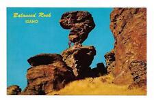 Vintage Idaho Chrome Postcard Balanced Rock near Castleford