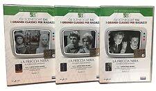 3 Dvd Serie del drama Rai «EL FLECHA NEGRA» por Reggiani L.Gardiner A.Foà