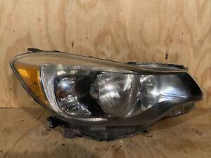 2012 2013 2014 2015 Subaru Impreza Crosstrek Headlight Right RH Passenger OEM