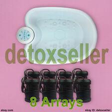 Detox Foot Bath Spa Tub Ionic Footbath Ion Cell Cleanse For Salon 8 Arrays + CE