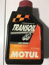 2x1L Huile Motul Transoil SAE 10W30 Minéral pour boites à vitesse bidon Neuf