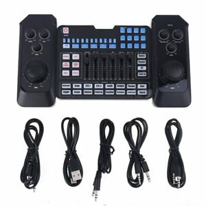 External Audio USB Live Microphone Sound Card Bluetooth for Computer Phone Game
