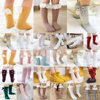 Kinder Baby Girls Spanish Romany Lemon Cotton Rich Ribbon Bow Knee Socks