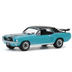 1:64 1967 Ford Mustang Ski Country Special Classic Model Car Diecast Vehicle Toy