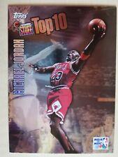 Michael Jordan - 1997/98 Topps- Inside Stuff #IS1