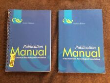 TWO COPIES  Publication Manual of the American Psychological Association Sixth