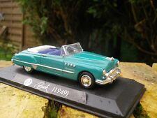 ROAD SIGNATURE pour FABBRI BUICK 1949 CABRIOLET comme neuf sur son socle.