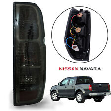 Fits Nissan Frontier Navara Tekna D40 Tail Light Rear Lamp Black Smoke Len Right