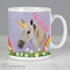 Personalised Rachael Hale Unicorn Mug Birthday Gift For Girls Women Any Name
