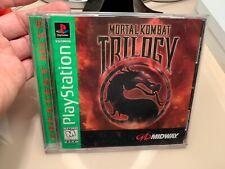 Sony Playstation 1 Game - Mortal Kombat Trilogy - PS1