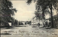 Malone NY East Main St. c1910 Postcard rpx