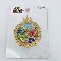 Super Nintendo World Opening Memorial Pin UNIVERSAL STUDIOS JAPAN Mario Bros