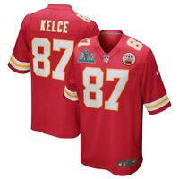 Nike Travis Kelce #87 Kansas City Chiefs Super Bowl LIV Champions Game Jersey