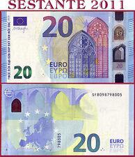 "(com) EUROPEAN UNION  ITALY 20 EURO 2015 Sign DRAGHI  ""SF""  S012H1 - P 22s - UNC"