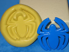 Spiderman Spider Silicone Push Mold Cake Favor Party Chocolate Resin Soap A426