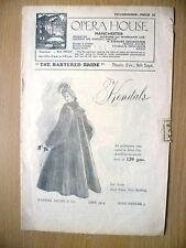 1949 Opera House, Manchester, Sadler's Wells Opera,KENDALS- THE BARTERED BRIDE