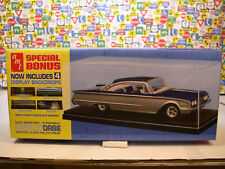 CLEAR PLASTIC DISPLAY CASE PRODUCED BY AMT FOR 1:24 SCALE VEHICLES
