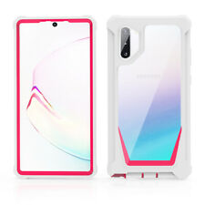 For Samsung Galaxy Note 10 Plus S20 Ultra Shockproof Bumper Hybrid Case Cover