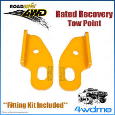 Toyota Landcruiser 80 100 105 Roadsafe Rated Recovery Heavy Duty Tow Points Kit