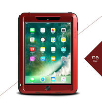 Coque antichoc IPAD  9.7 new 2017  LOVE MEI FRANCE - étanche - Rouge
