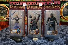 LOTR-EOWYN- KING THEODEN- EOMER- THE TWO TOWERS- ROHAN- TOYBIZ-THE HOBBIT