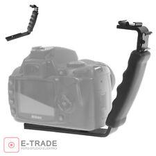 Flash Bracket Grip Camera Flash Arm Holder Stand for Nikon Canon DSLR