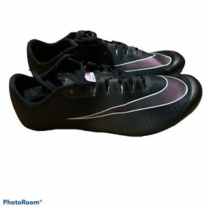 New Mens Nike Zoom Ja Fly 3 size 8.5 Track Spikes Black 865633-002 black