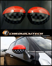 MINI Cooper/S/ONE R55 R56 R57 JCW Style WING MIRROR Caps Covers for Manual Fold