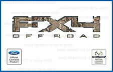 2011 Ford F150 FX4 Off Road RealTree Decals Stickers AP Camo Camouflage F250 4x4