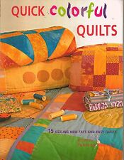 Quick Colorful Block Quilts Baby Wall Hangings Full Size Quilting Pattern Book