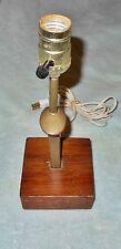 RAILROAD SPIKE TABLE LAMP