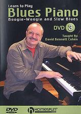 Imparare a giocare BLUES PIANOFORTE BOOGIE WOOGIE lezione DVD 3