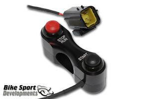 Ducati 848 1098 1198 DRR race bike handlebar switch assembly Stop/Run and Start