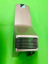 VESPA PIAGGIO FACTORY PAINTED METALLIC SILVER HORN CASING C/W BADGE / GRILLE
