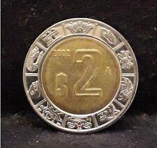 2002 Mexico 2 pesos, bi-metallic, KM-604 (ME2)                              /N59
